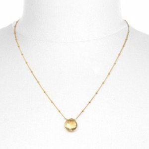 Satya Citrine Drop Abundance Necklace